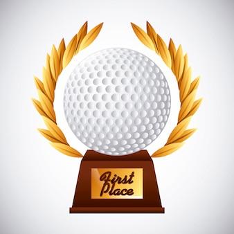 Emblema do clube de golfe