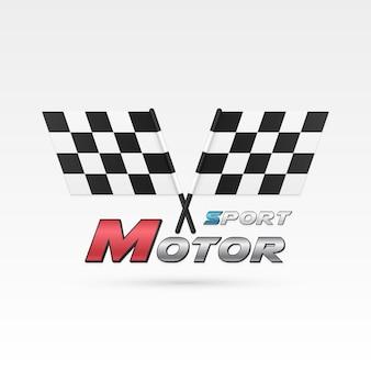 Emblema do esporte a motor