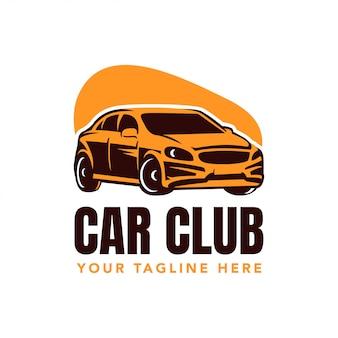 Emblema do logotipo do clube de carro