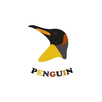 Emblema do pinguim-rei