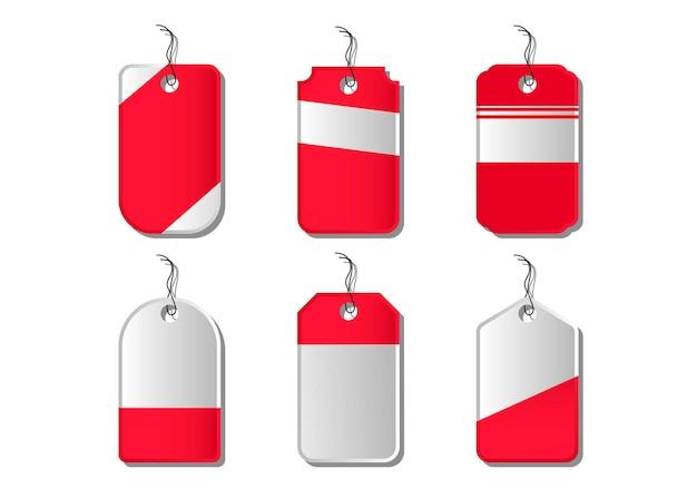Emblema, etiquetas e fitas de vetor