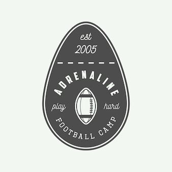 Emblema ou logotipo do rugby.