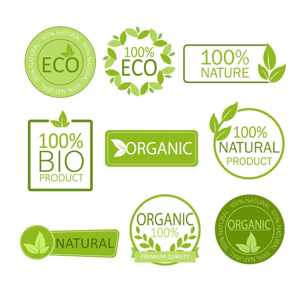 Emblema vegan. produto natural. nutrição saudável e fresca. estilo de vida saudável.