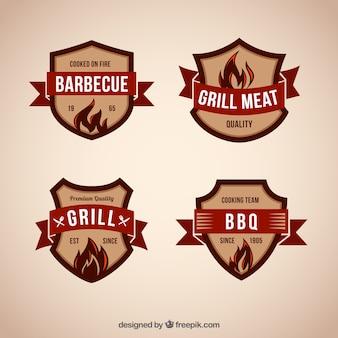Emblemas churrasco