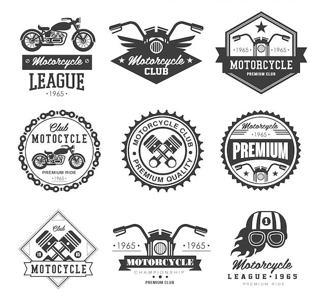Emblemas colecções de motocicletas