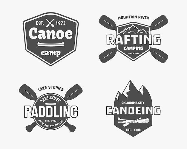Emblemas de aventura ao ar livre