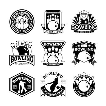 Emblemas de boliche