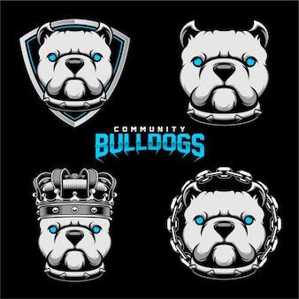 Emblemas de bulldogs