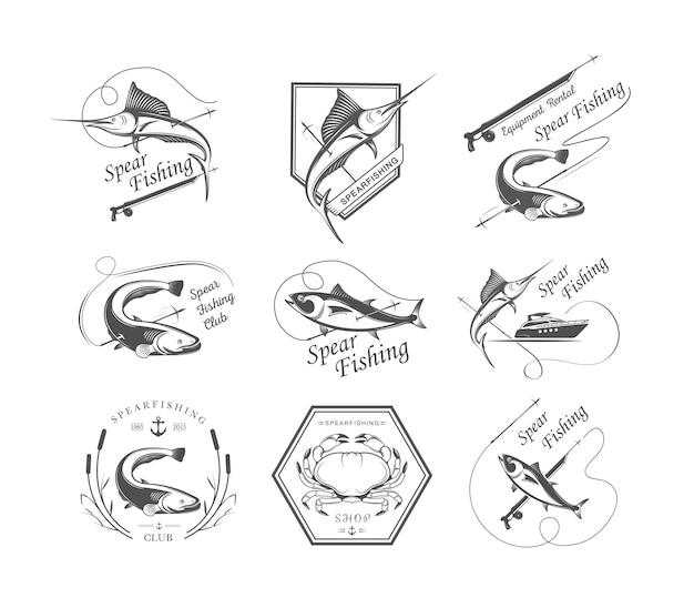 Emblemas de caça submarina