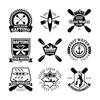 Emblemas de canoagem