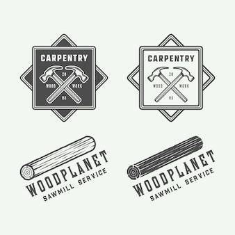 Emblemas de carpintaria