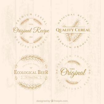 Emblemas de cereais