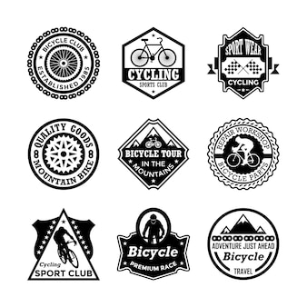 Emblemas de ciclismo