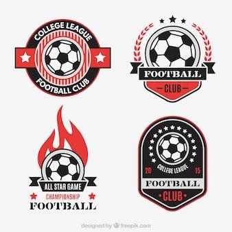 Emblemas de clubes de futebol