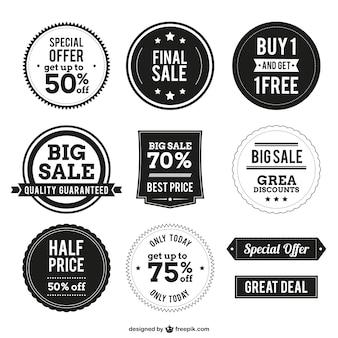 Emblemas de compra