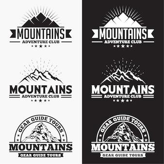 Emblemas de montanhas