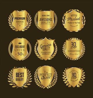 Emblemas de ouro