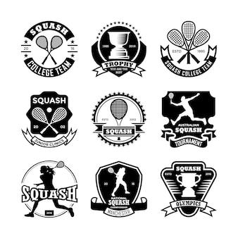 Emblemas de squash