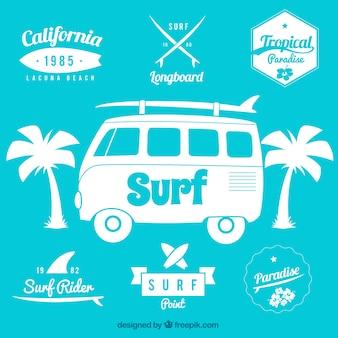 Emblemas de surf