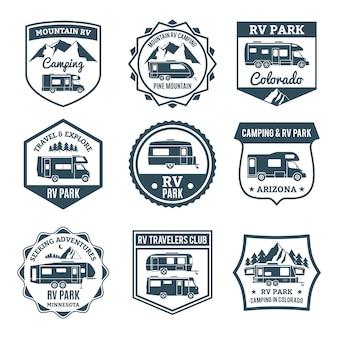 Emblemas de veículos recreativos