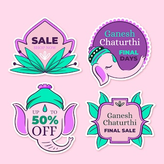 Emblemas de venda ganesh chaturthi