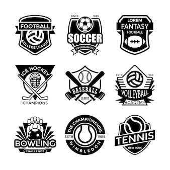 Emblemas desportivos
