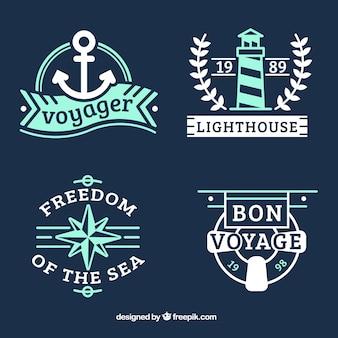 Emblemas do marinheiro