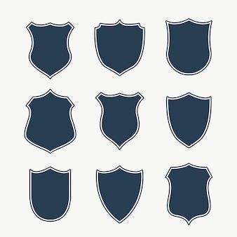 Emblemas e etiquetas coletivas