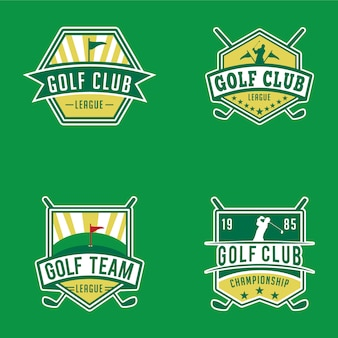 Emblemas e logotipos de golfe