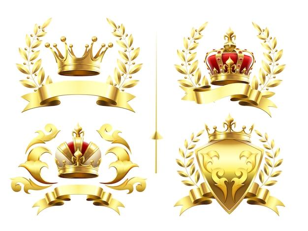Emblemas heráldicos realistas
