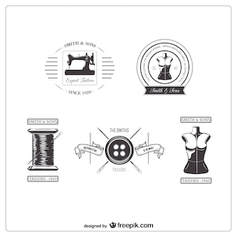 Emblemas medida retro