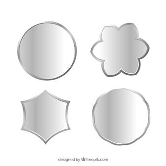 Emblemas metálicos
