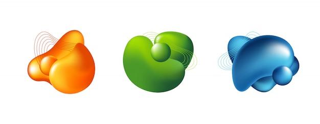 Emblemas modernos para app