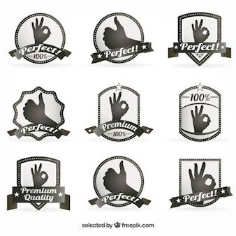 Emblemas premium