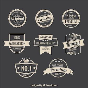 Emblemas promoção retro
