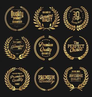 Emblemas retrô
