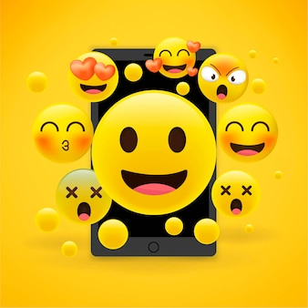 Emoções emoji