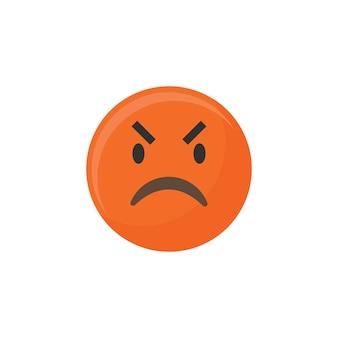 Emoji irritado