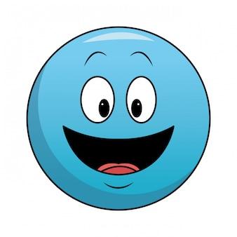 Emoticon sorridente