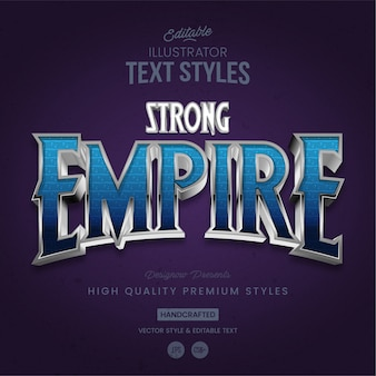 Empire text style