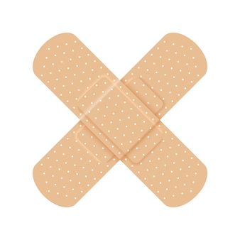 Emplastro médico da fita adesiva