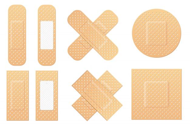 Emplastros médicos elásticos de bandagem adesiva, patch.