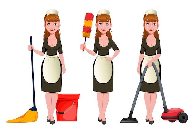 Empregada doméstica, faxineira, faxineira