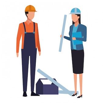 Emprego e ocupação de pessoas
