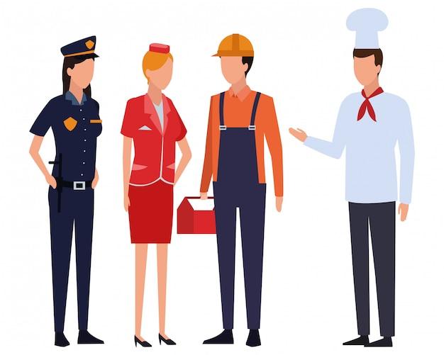 Empregos e profissões avatar