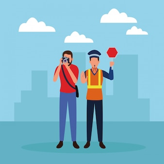 Empregos e profissões avatars