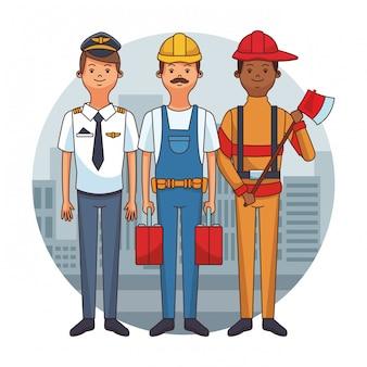 Empregos e profissões