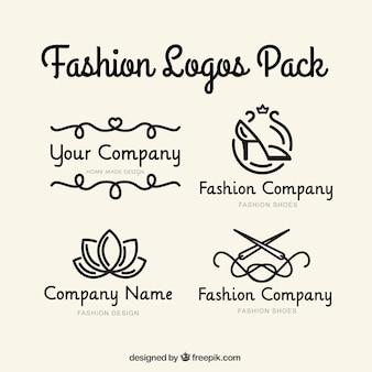 Empresa conjunto logotipo