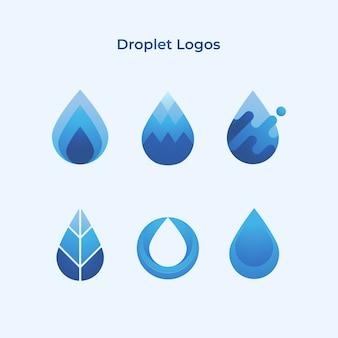 Empresa de logotipos de gotas