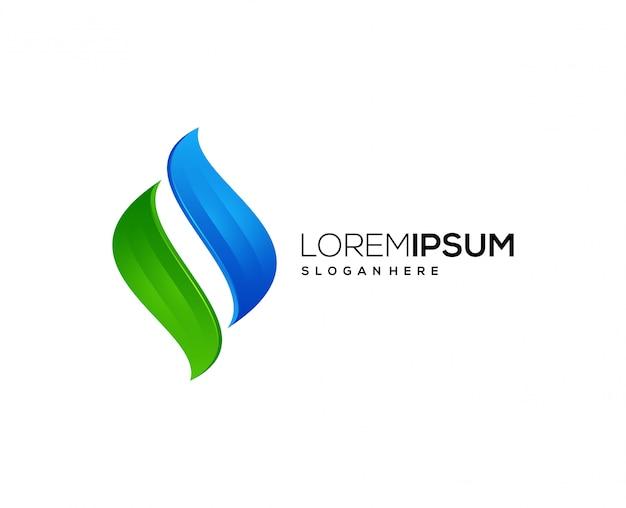 Empresa de negócios de ícone de logotipo de energia
